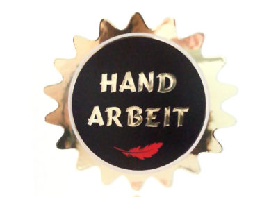 Decorative sticker for jewellery box